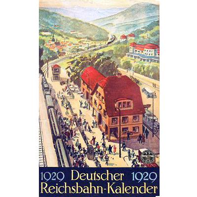 drg kalender 1929