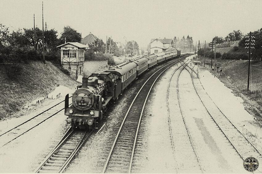 Baureihe 38 met de Rheingold