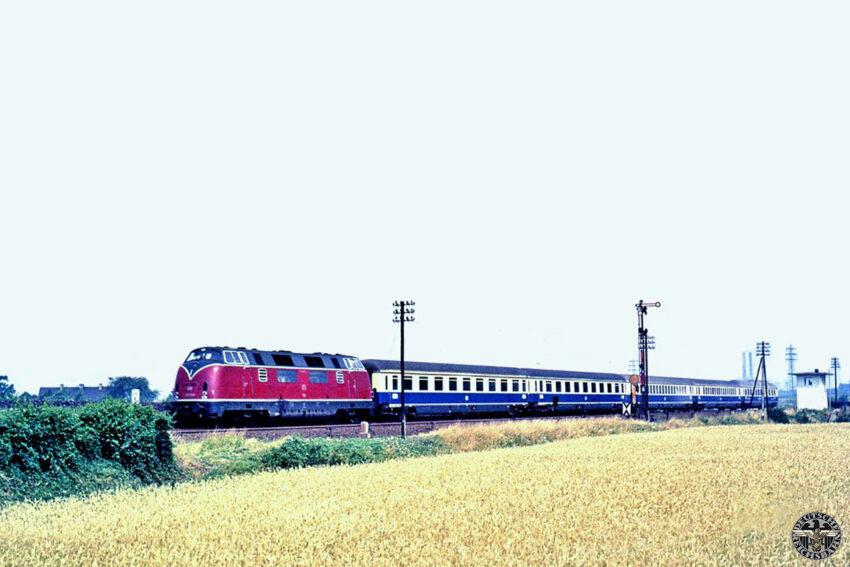 Baureihe V200 met de Rheingold